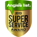 San Diego Plumber Earns Esteemed 2013 Angie's List Super Service Award