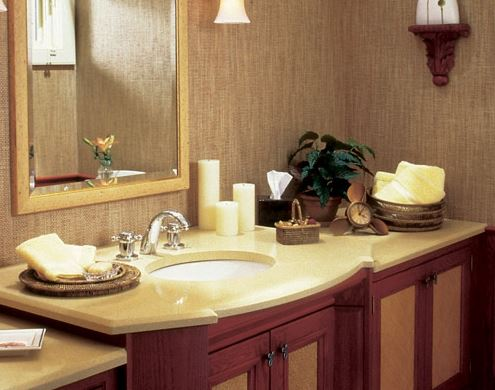 natural stone countertop with sink San Diego CA
